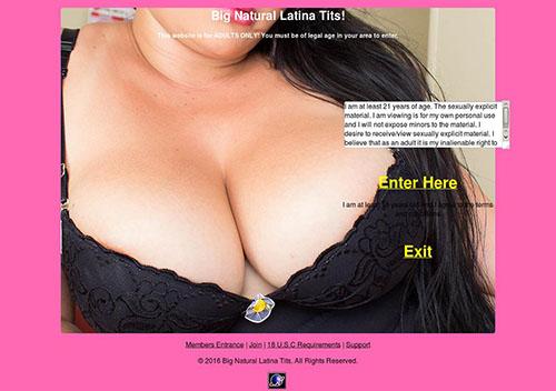 Big Natural Latina Tits