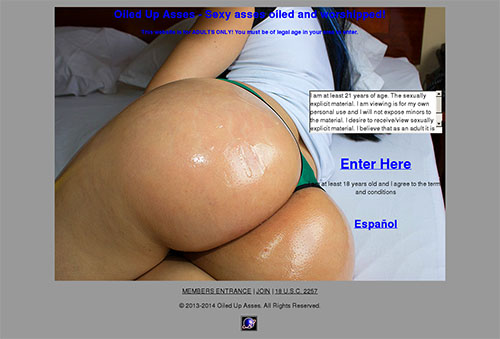 Oiled Up Asses